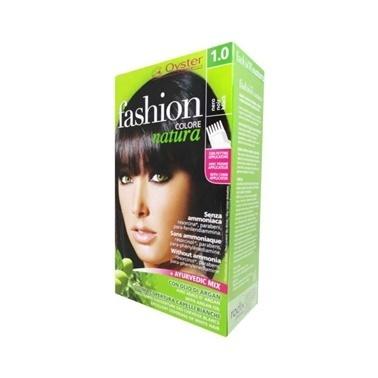 Fashion Colore Natura  Saç Boyası 1.0 Black Siyah